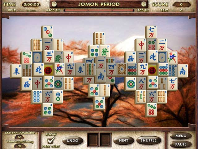 Mahjong Escape Game